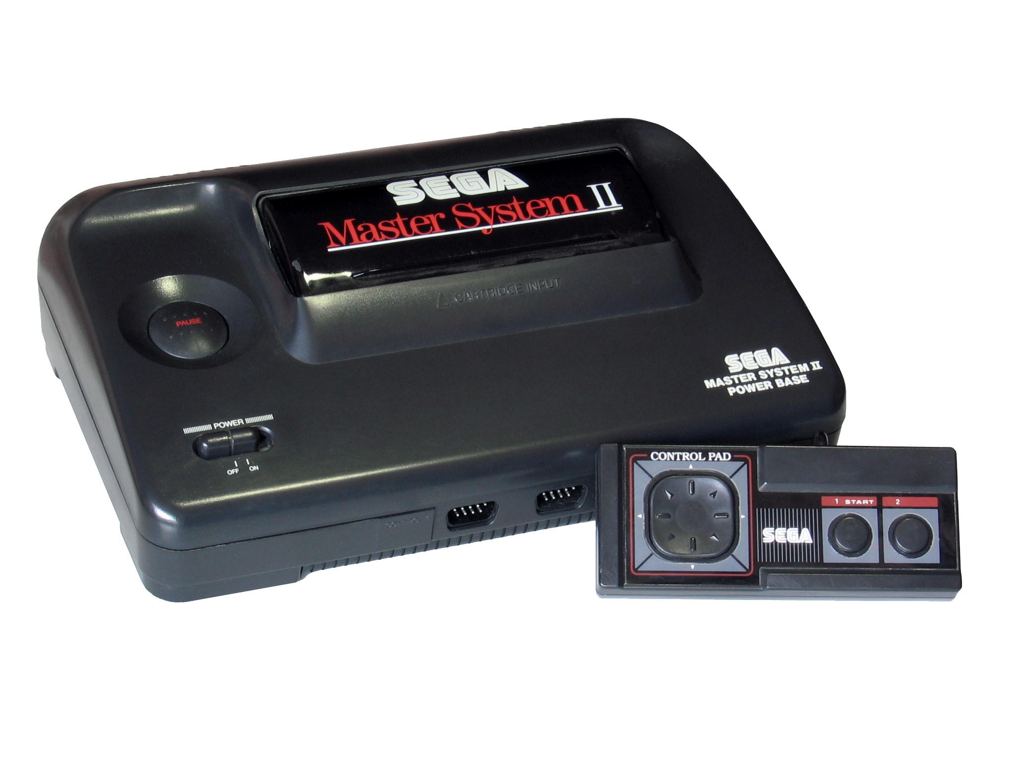 Игровая приставка Sega Master System