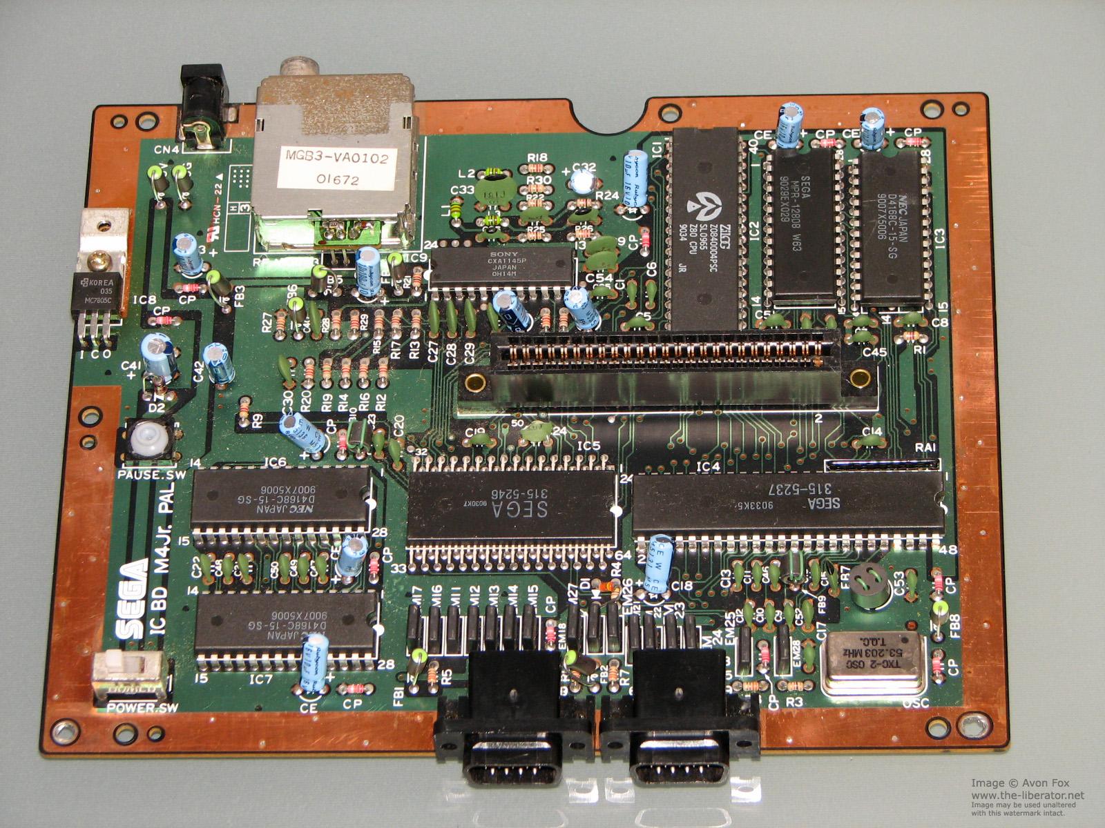 Sega Master System использовала процессор Z80 — такой же, как в ZX Spectrum