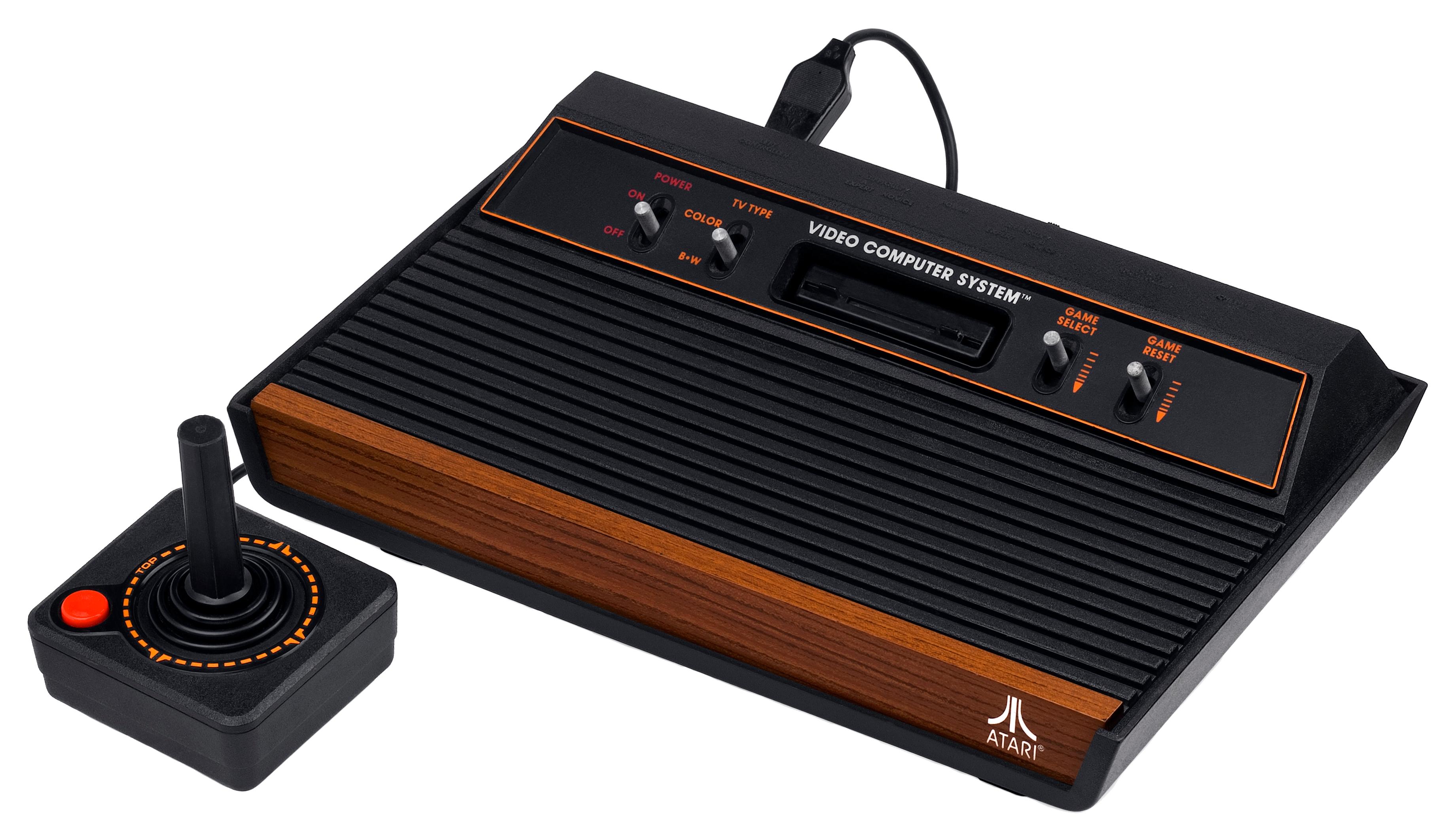 Домашний компьютер Atari 2600