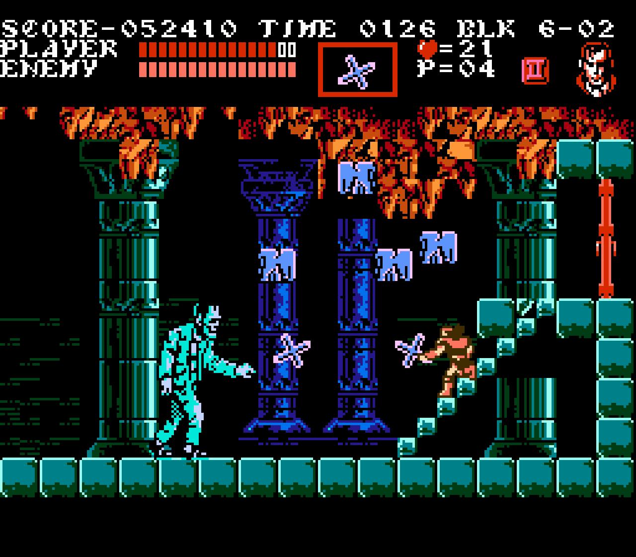 Игра Castlevania для NES