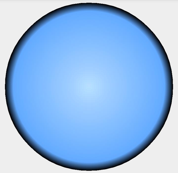 Рис. 3. Шейдер фона радара