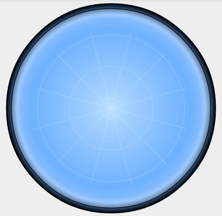 Рис. 5. Шейдер стеклянного купола