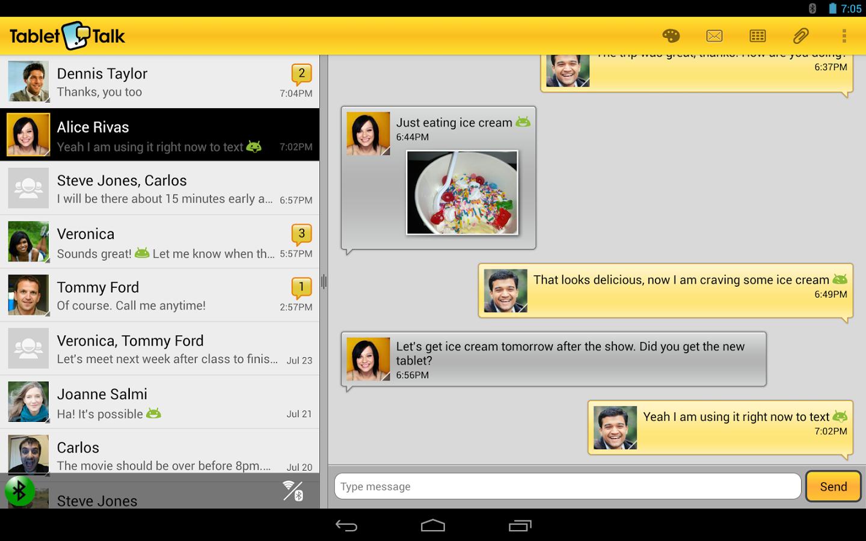 Разработчик Tablet Talk явно любит общаться