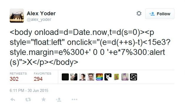 код игры в один твит