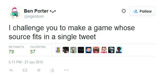 игра в один твит