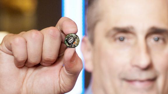 Система на кристалле Intel Curie для интернета вещей