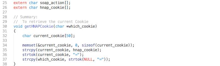 Обработка HTTP-запроса в D-link DSP-W110