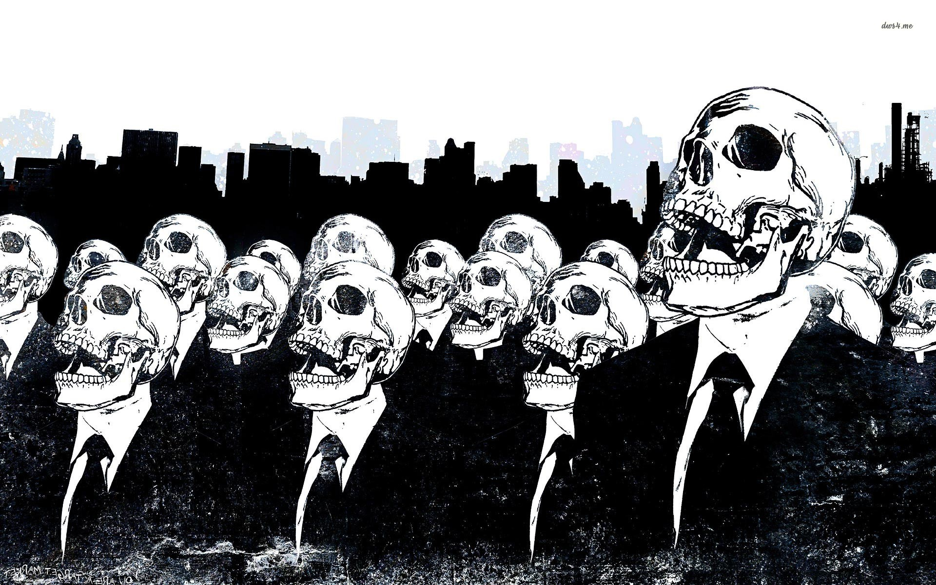 skeleton-crowd