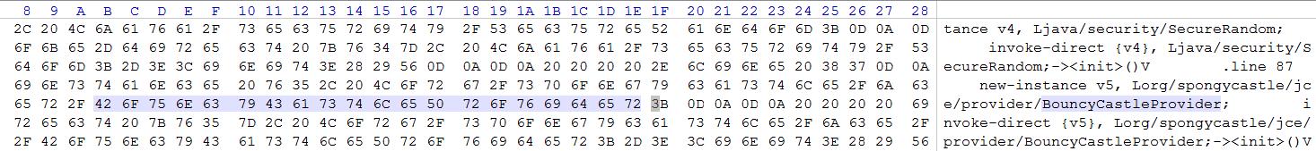 PGP Tools использует Bouncy Castle OpenPGP API