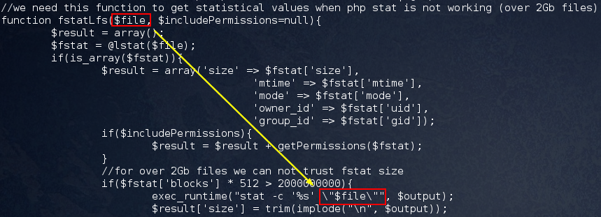 Функция exec_runtime