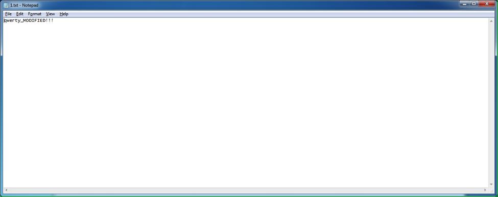 Рис. 5. Модифицированный текстовый файл