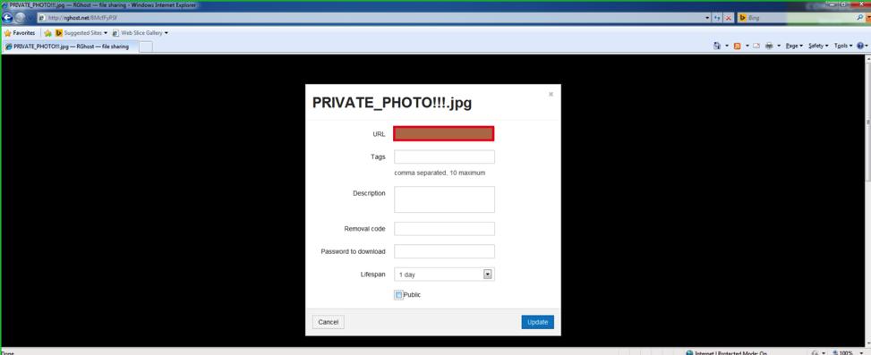 Рис. 8. Изолированное в песочнице приложение сумело украсть приватную фотографию