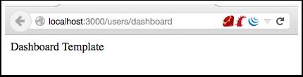 Пример загрузки шаблона dashboard