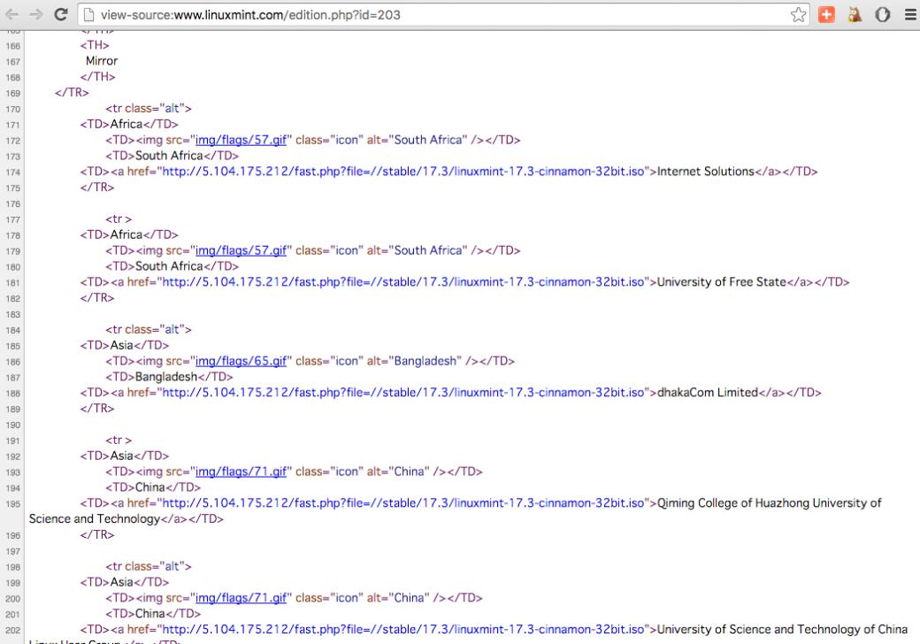 linux-mint-website-hack
