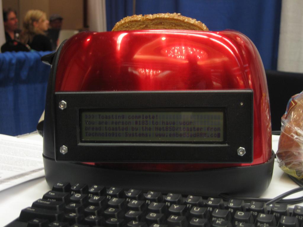 Тостер под управлением NetBSD