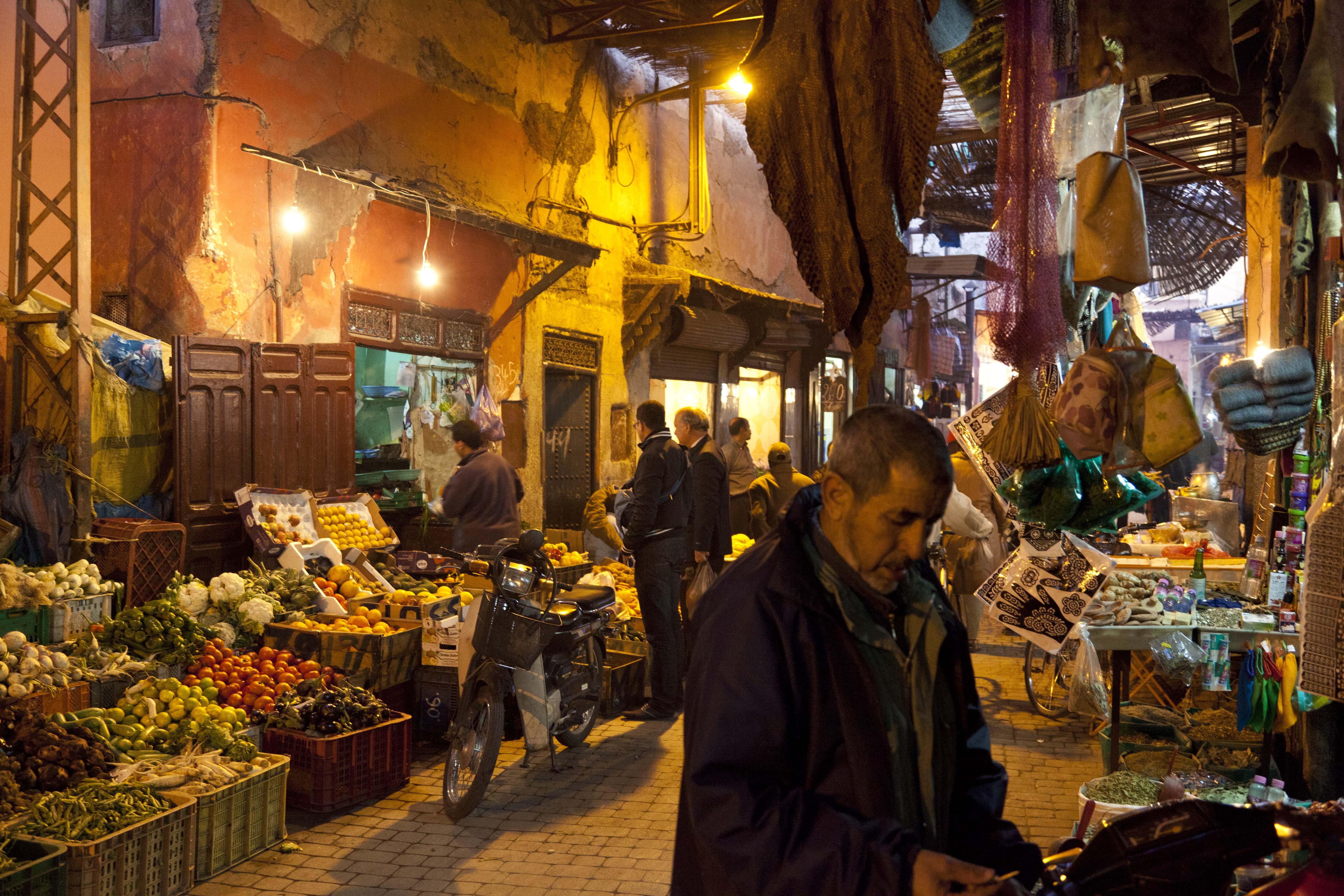 Market-Marrakech-Morocco