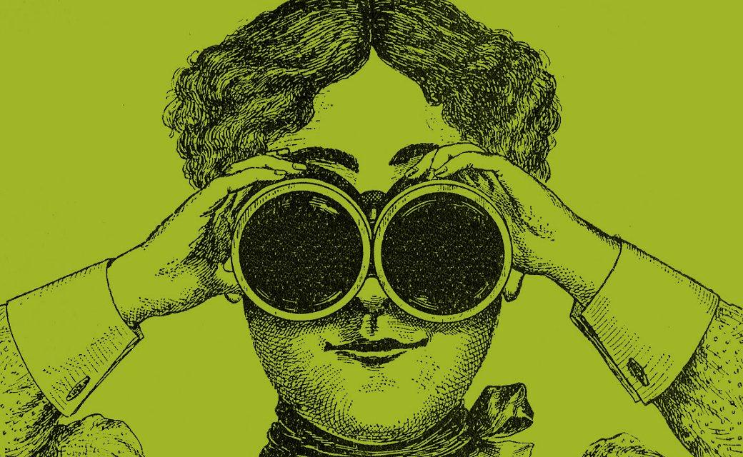 binocularslady
