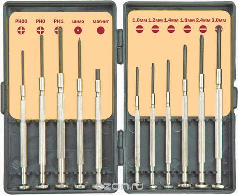 Набор часовых отверток, самый жуткий инструмент для пальцев