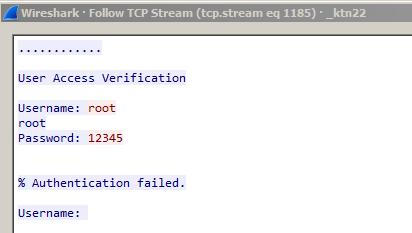 Подбор пароля к Telnet