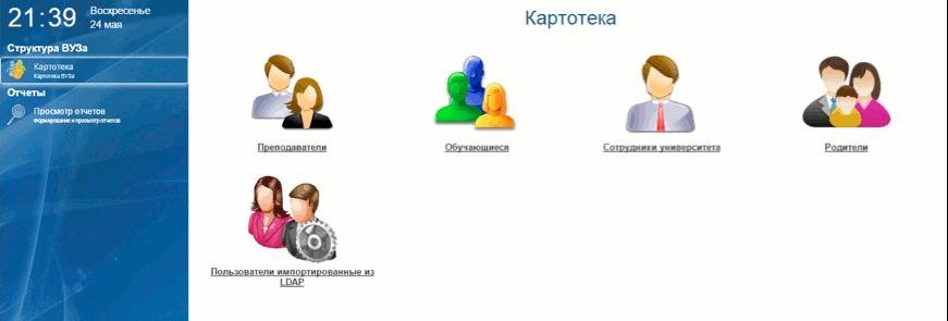 Функции администратора Platonus