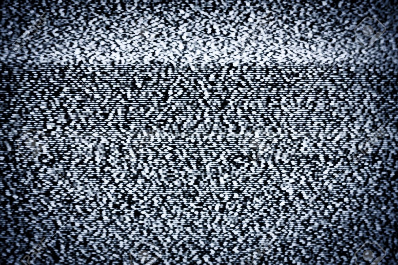 14836713-Analog-television-with-white-noise-Stock-Photo-static-tv