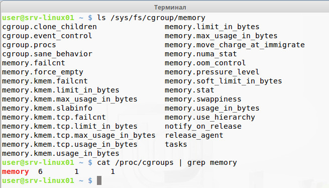 Проверяем работу cgroup memory controller