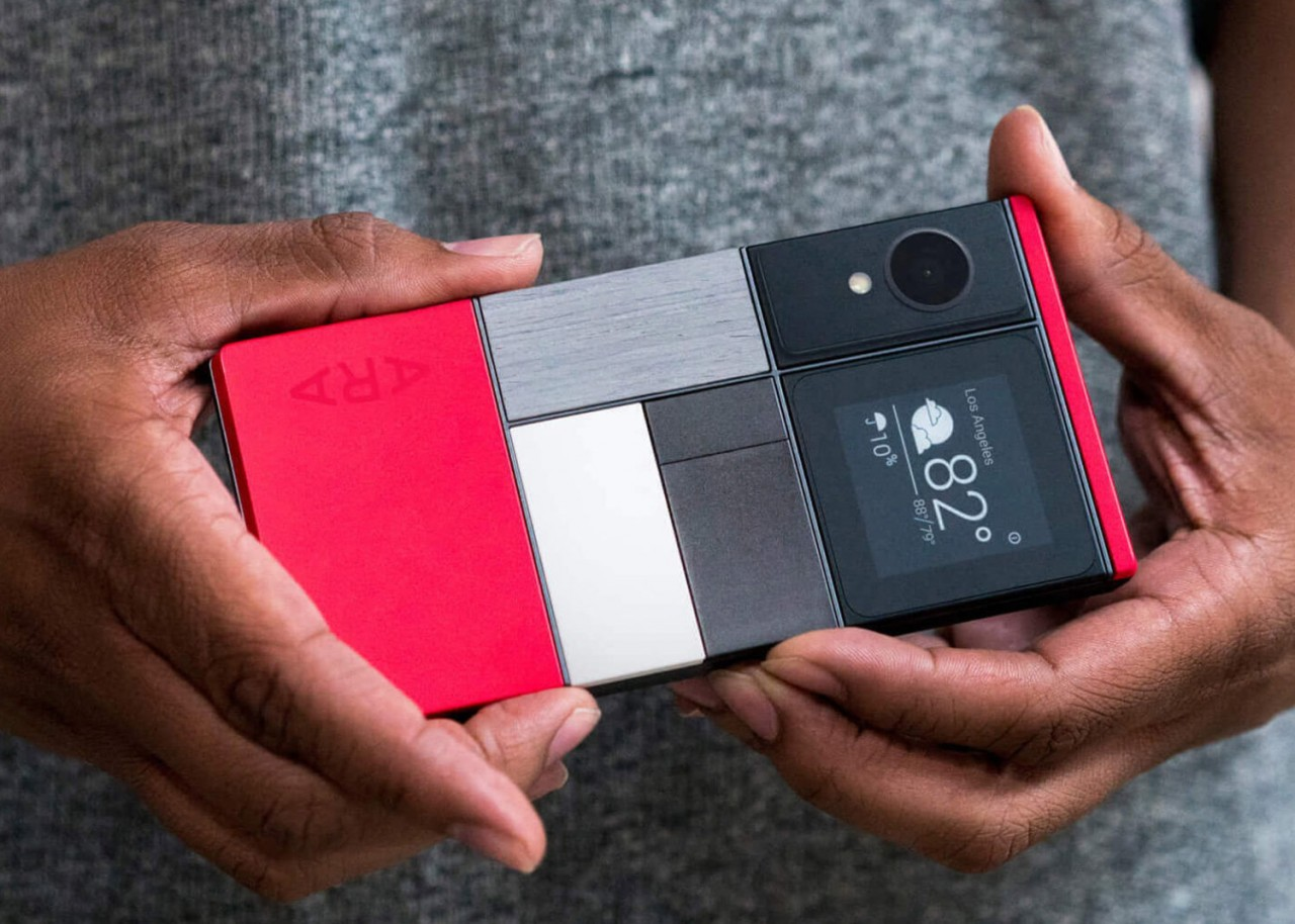 Недомодульный смартфон