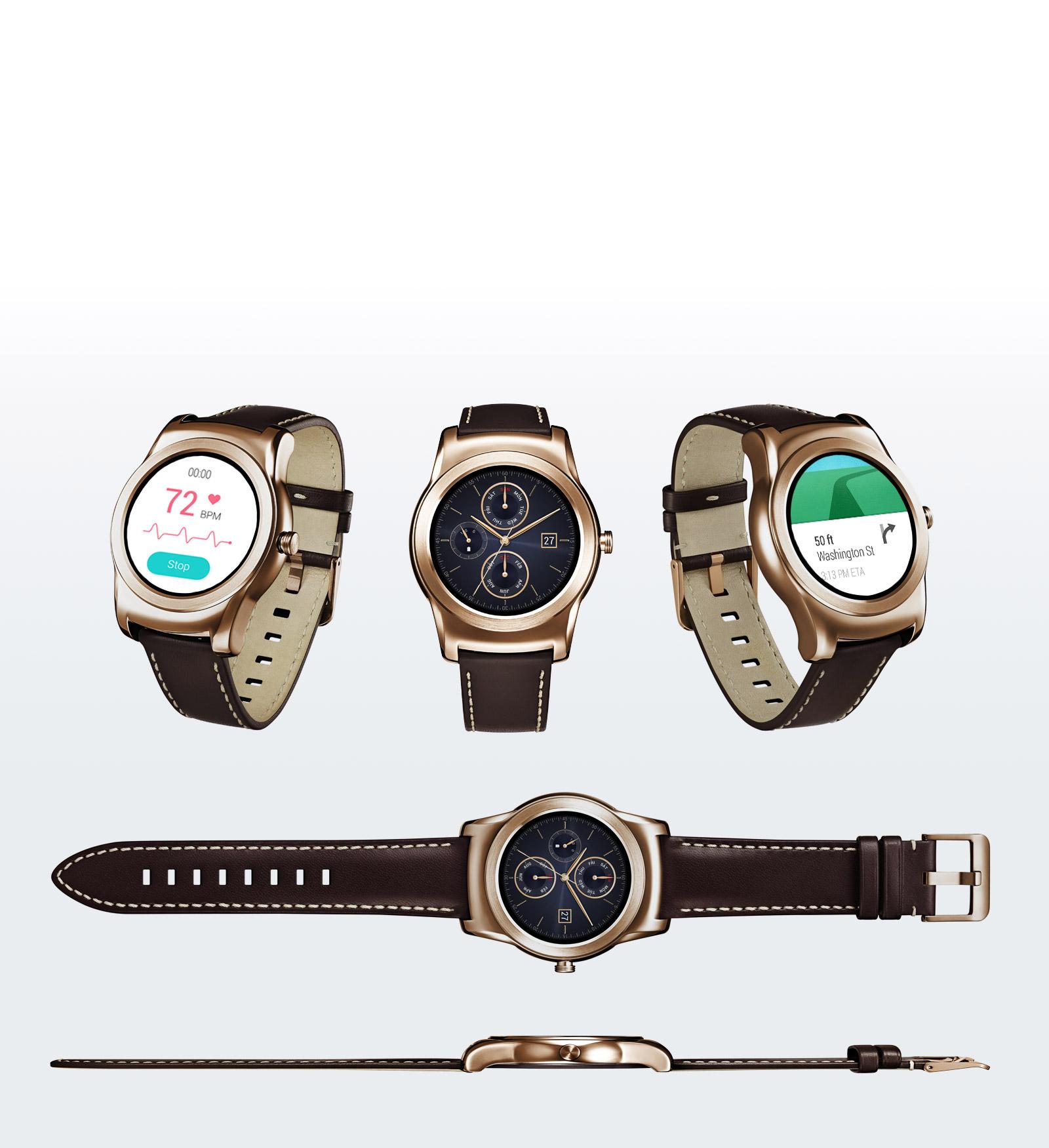 Рис. 4. LG Watch W150 Urbane gold