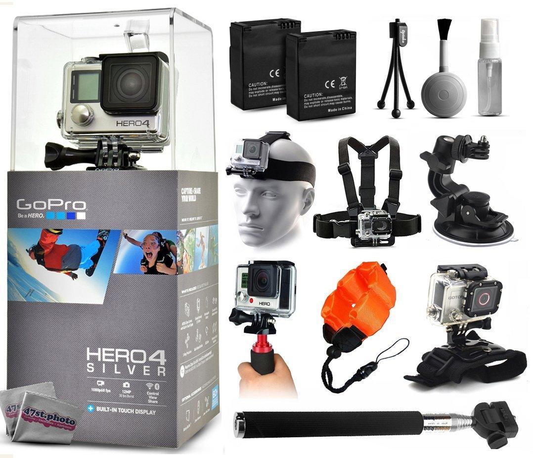 Рис. 2. GoPro Hero4 в неплохой комплектации