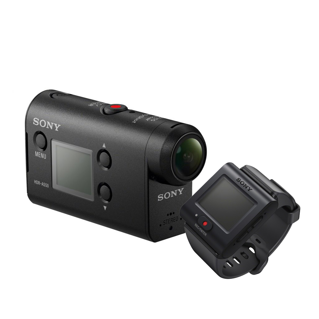 Рис. 3. Sony Action Cam HDR-AS50 с пультом ДУ