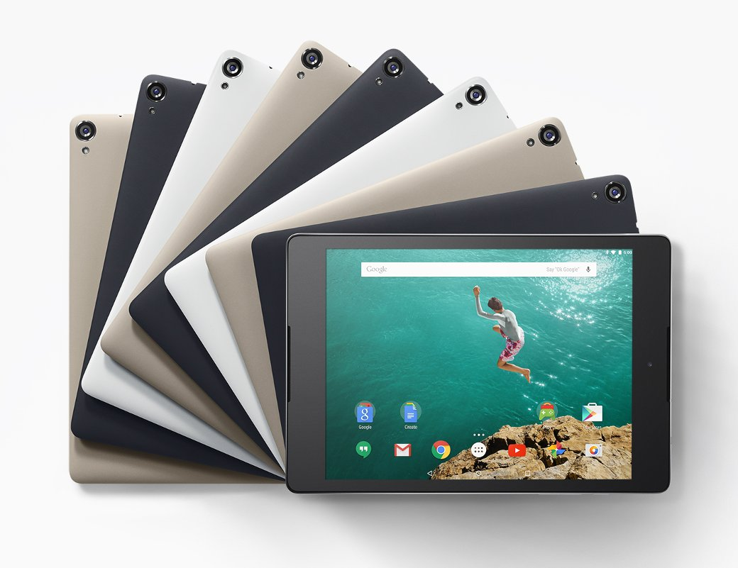Рис. 8. Google Nexus 9 Tablet