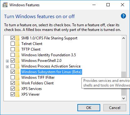 Linux в Windows — это не баг, это фича