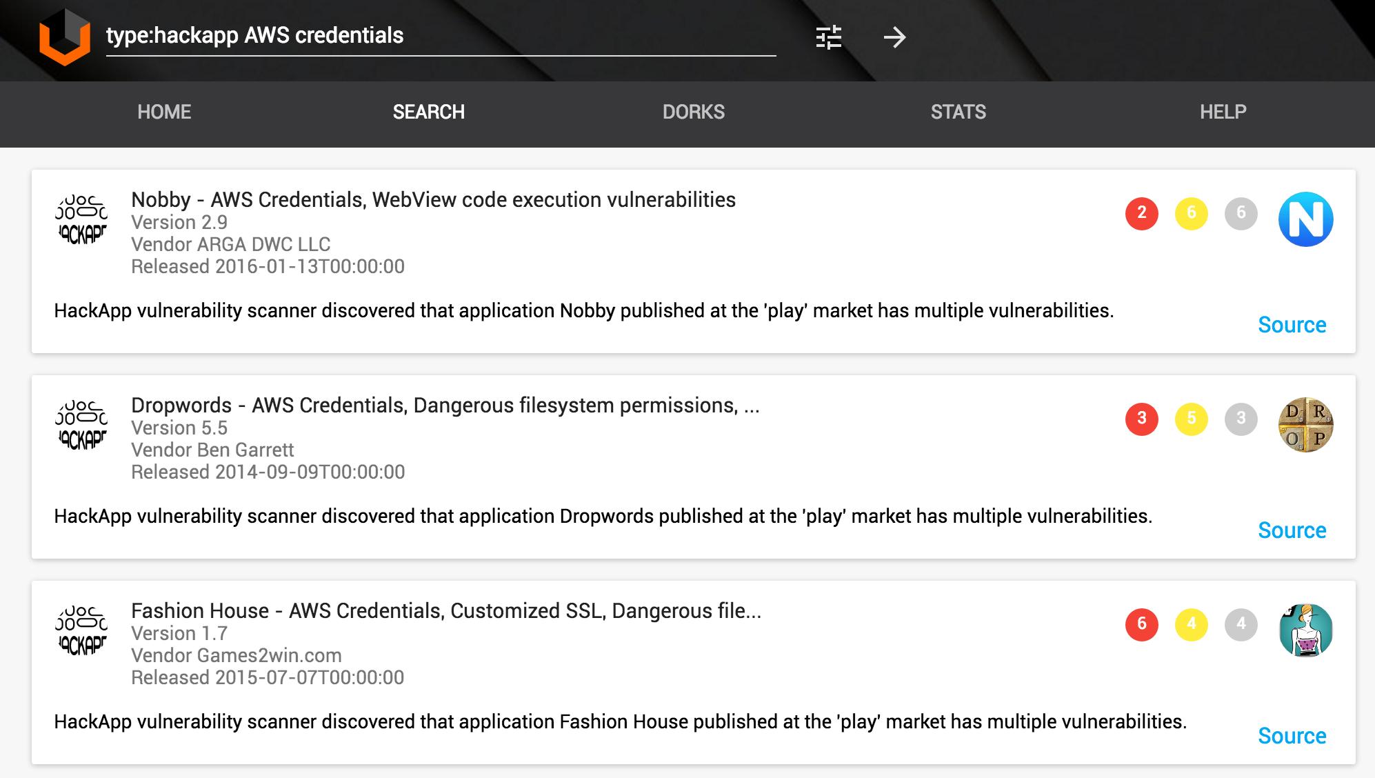 Ищем захардкоженные в Android-приложение креды от AWS