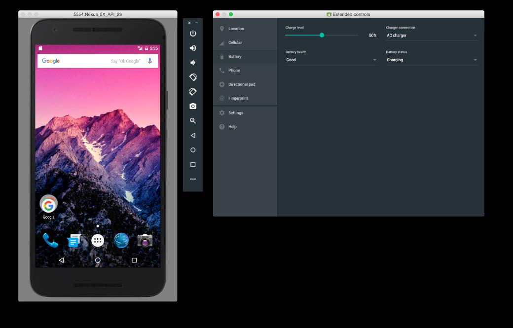 Новый эмулятор Android Studio 2.0