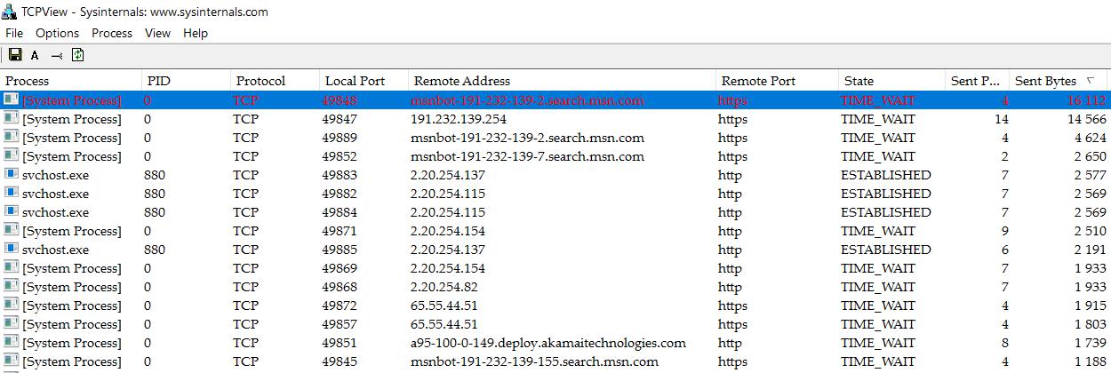 MSN-бот ставит рекорды аплоада