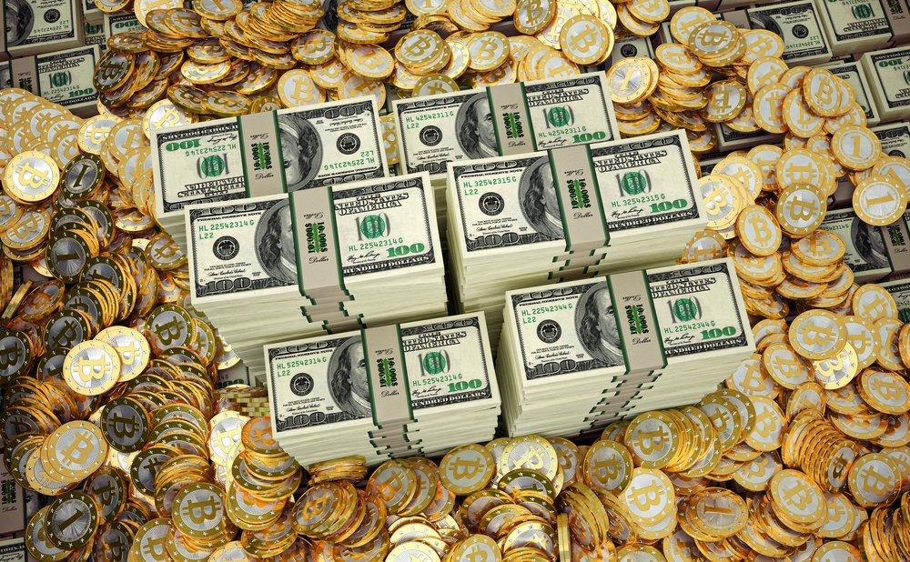 Bitcoins-dollars
