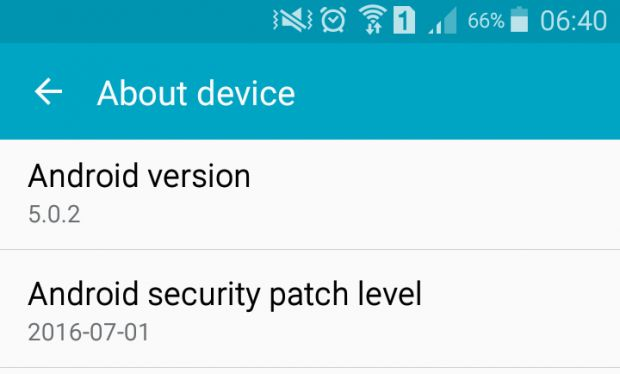 security-patch-level