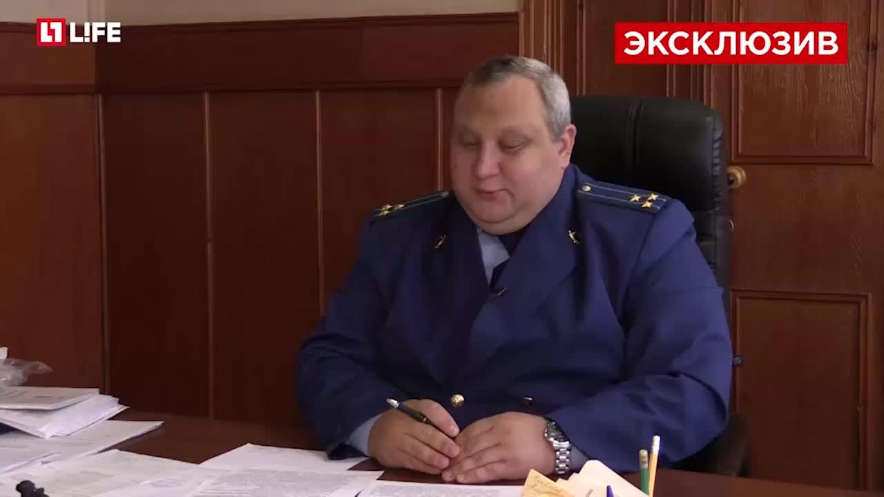 Денис Грибанов, прокурор Бутурлиновского района