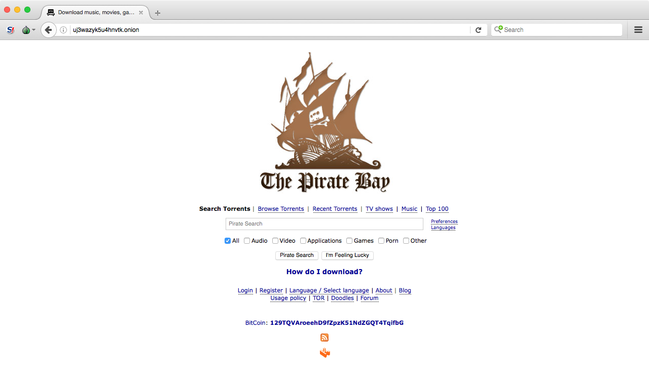 Если thepiratebay.org перестал открываться, ты знаешь, что делать