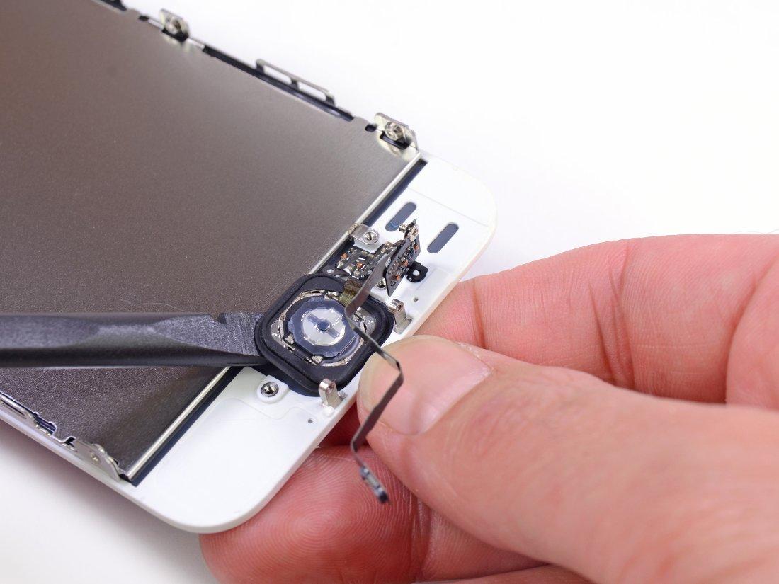 Сканер Touch ID в iPhone 5s