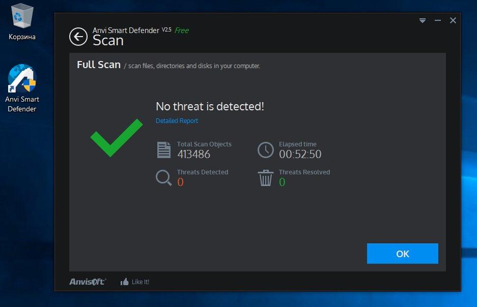 Anvi — полное сканирование после десяти проваленных тестов