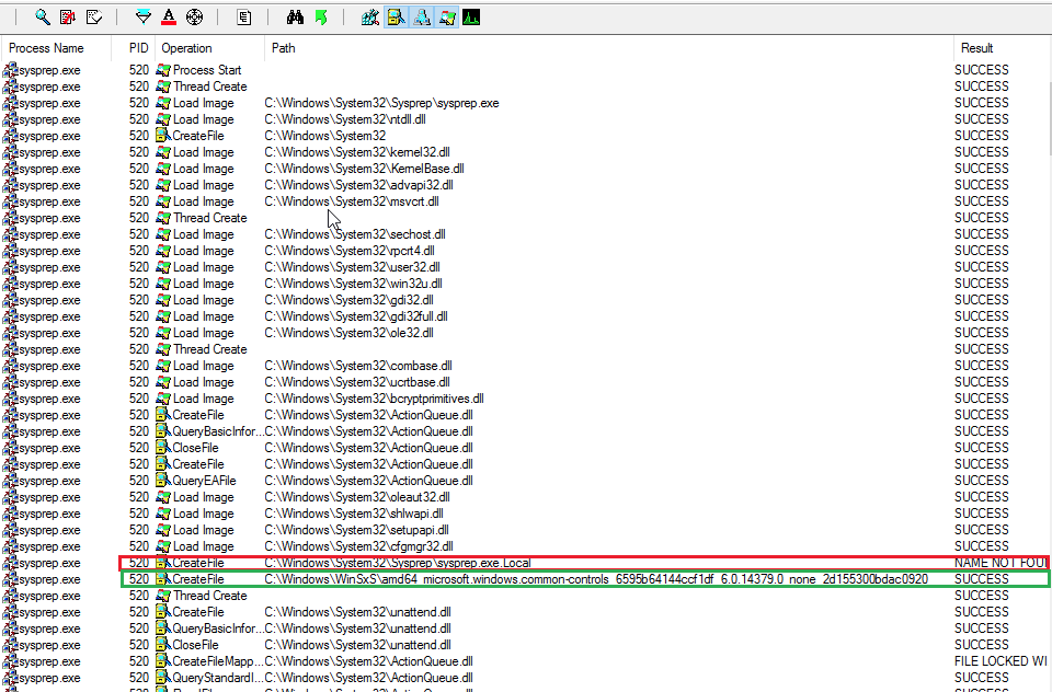 Диспетчер процессов показывает создание каталога .local