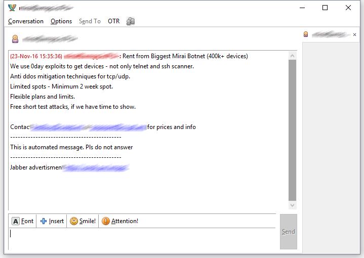 mirai-spam-censored