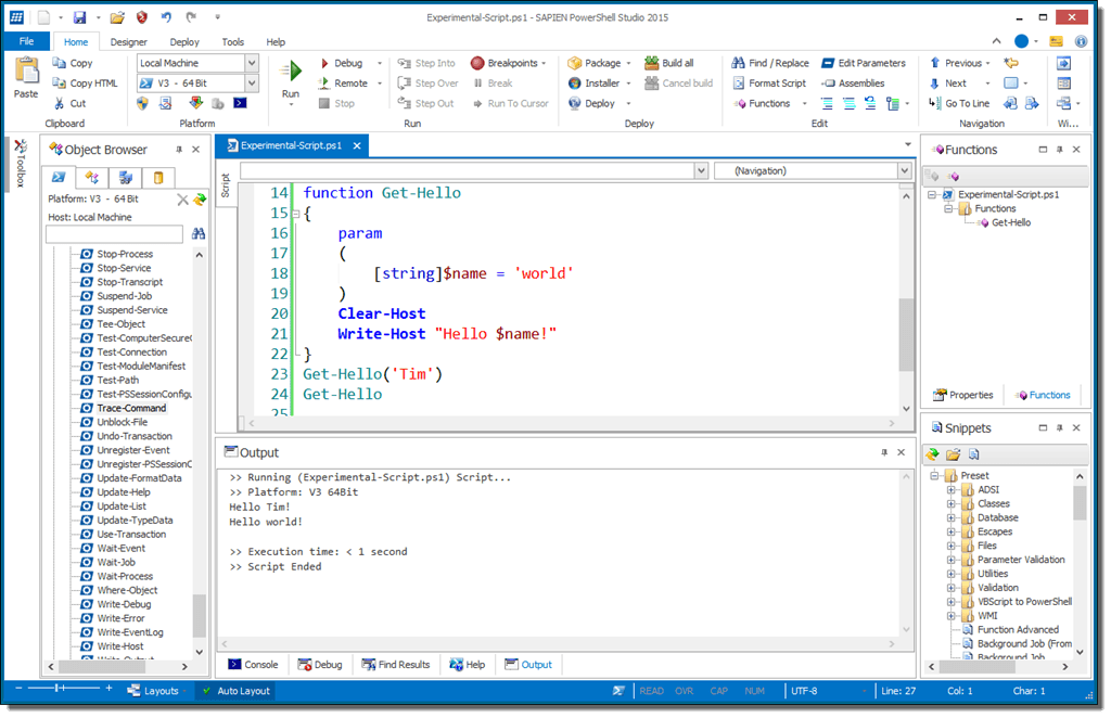 PowerShell Studio 2015