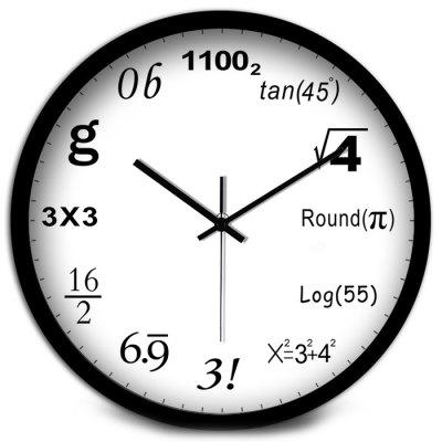 Рис. 22. Creative Geek Math Number Wall Clock