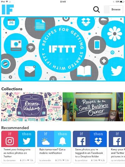 Готовые решения IFTTT