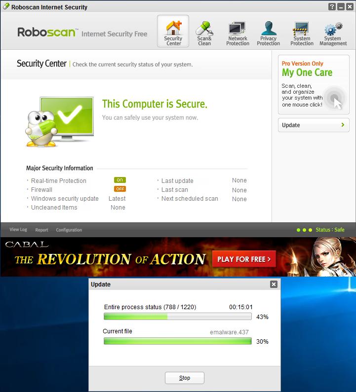 Обновление Roboscan