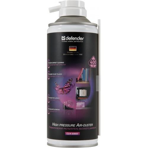 Баллончик со сжатым воздухом Defender 30805 (для чистки ПК) 400 мл