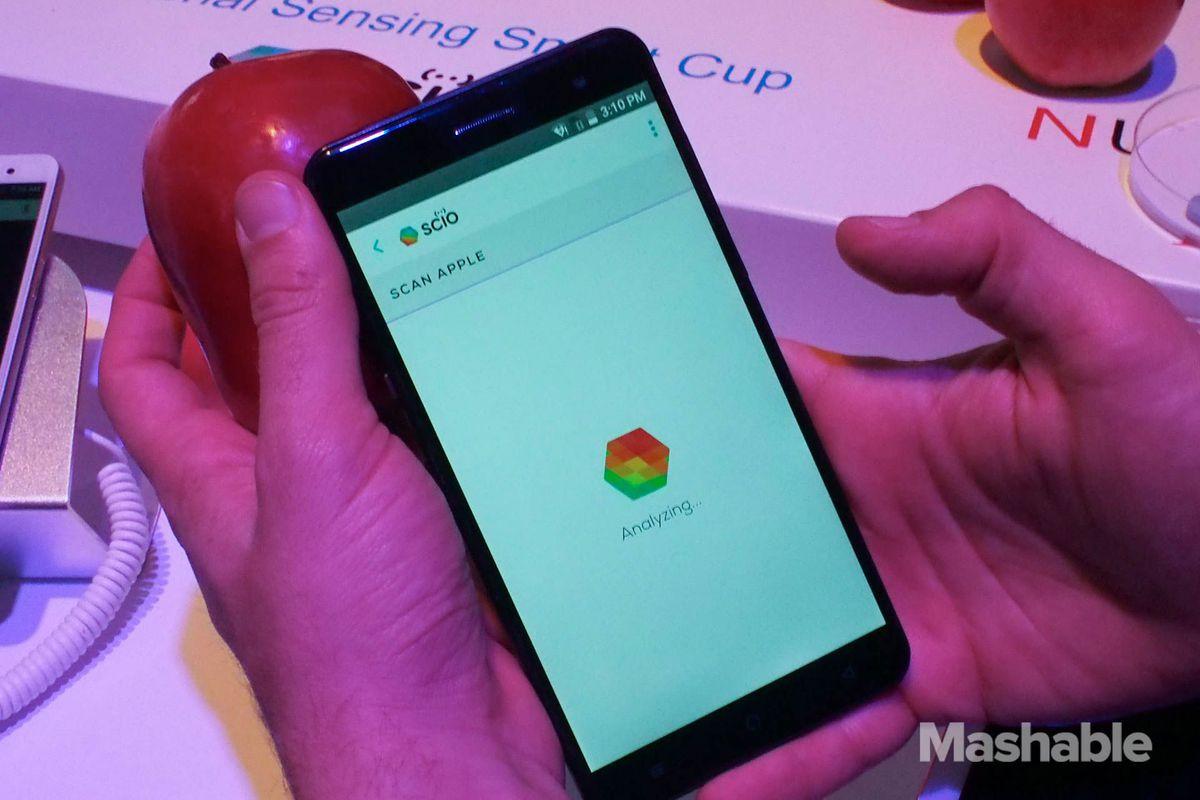 Changhong H2 — смартфон с молекулярным сканером
