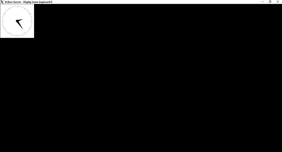 VcXsrv — X-clock в Windows. Магия!